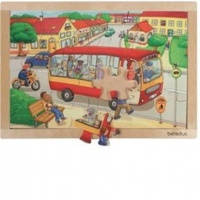 Beleduc Germany Frame Puzzle: Town Photo