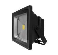 Luceco - LED Floodlight 30 Watt 5000K CCT Black Body - 0.5m Photo