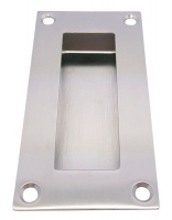 DPS FP01 Project Satin Stainless Steel Rectangular Flush Pull Photo