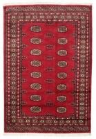 Authentic Karachi Bokhara Carpet - Red Photo