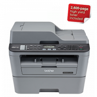 Brother MFC-L2700DW 4-in-1 Multifunction Wi-Fi Mono Laser Printer Photo