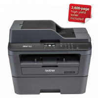 Brother MFC-L2740DW 4-in-1 Multifunction Wi-Fi Mono Laser Printer Photo