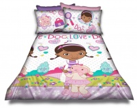 Disney Doc McStuffins Doc Mcstuffins Single Duvet Cover Set Photo