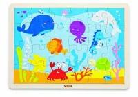 Viga Wooden Ocean Puzzle - 24 Pieces Photo