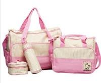 5 Piece Baby Changing Diaper Nappy Bag Mummy Mother Handbag Multifunctional Set Photo