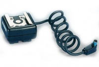 Kaiser 1301 Flash Shoe Adaptor with Sync Cable Photo