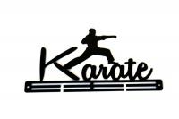 TrendyShop Karate Medal Hanger - Black Photo
