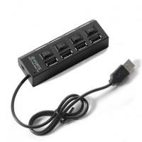 USB 2.0 HUB 4 USB ports with individual switches Photo