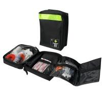 Eco - First Aid Kit Bag - Black & Lime Photo