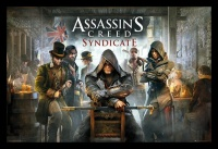 Assassins Creed - Syndicate With Black Frame Photo