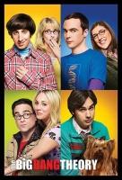 Big Bang Theory - Blocks with Black Frame Photo