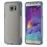 Samsung Puregear Galaxy Note 5 Slim Shell Pro - Clear & Blue Photo