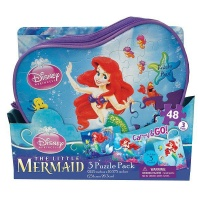 Disney Princess 3 Pack Puzzles In A Bag Photo