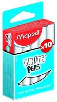 Maped White'Peps Chalk - 10 Pieces Photo