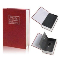 Book Safe Medium - Red Photo