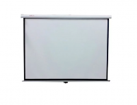 """84"""" Electric HD Projector Screen with Remote Photo"""