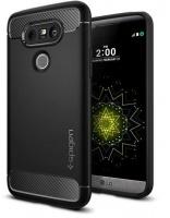 LG SPIGEN Rugged Armor Case for G5 -Black Photo