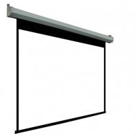 100'' Motorized Electric Projector Screen with Remote Photo