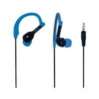 Amplify Sprinters Sports Hook Earphones - Black/Blue Photo
