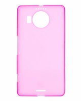 Microsoft Raz Tech Rubber Gel Case for Lumia 950 XL - Pink Cellphone Cellphone Photo
