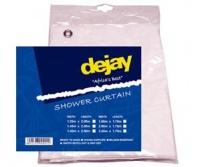 ToolHome Shower Curtain Pvc Econ W1.25X2M Dj #A68 Photo