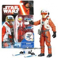 Star Wars The Force Awakens 3.75-Inch Figure - X-Wing Pilot Asty Photo