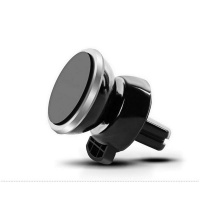 Universal-360-Rotating-Magnetic-Car-Air-Vent-Mount-Phone-Holder-Stand Silver Photo
