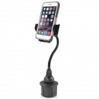 "Macally Car Cup Holder 8""/20 cm Mount for iPhone/Smartphone - Black Photo"