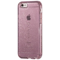 Speck Candyshell Clear with Glitter for iPhone 6/6S Plus - Clear/Gold Glitter Photo