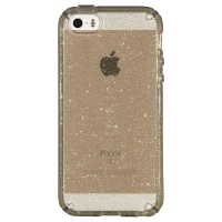 Speck Candyshell Clear with Glitter for iPhone iPhone 5/5S /5Se - Clear/Gold Glitter Photo