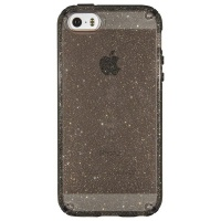 Speck Candyshell Clear with Glitter for iPhone 5/5S/5Se - Onyx/Gold Glitter Photo