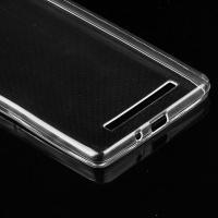Tuff-Luv 0.75mm Ultra-thin TPU Protective Case for Xiaomi Redmi 3X - Transparent Cellphone Photo