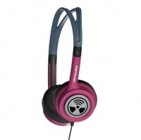 Zagg iFrogz Toxix Headphones - Hot Pink Photo