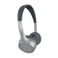 Zagg iFrogz Toxix Plus Headphones with Mic - Platinum Photo