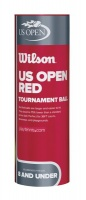 Wilson Us Open Red Tournament - 3 Ball Tin Photo