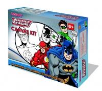 Teddy Justice League Batman Canvas Paiting Kit Photo