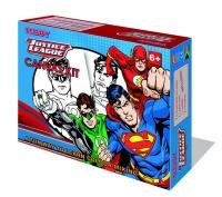 Teddy Justice League Superman Canvas Paiting Kit Photo