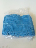 Atlantic Conversions - Safety Hair Net Mop Cap Blue Single Elastic - 100 Photo