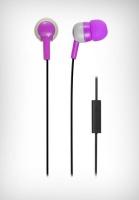 Wicked Audio Bandit with Mic - Purple & Grey Photo
