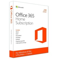 Microsoft Office 365 Home 1 Year Subscription for Windows Photo