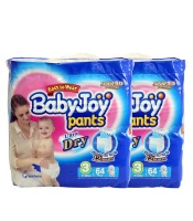 BabyJoy Pants - Size 3 Diapers - Double Pack Photo