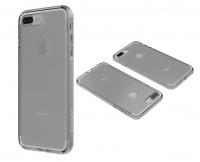 Body Glove Clownfish Aluminium Case for iPhone 7 Plus - Clear & Silver Photo