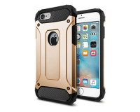 Shockproof Armor Hard Protective Case for iPhone 6 & 6S - Silver Photo