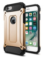 Shockproof Armor Hard Protective Case for iPhone 7 - Gold Photo