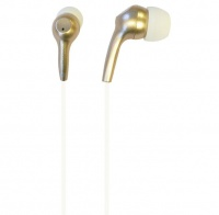 iFrogz Bolt Plus Earbuds with Mic - Gold Photo
