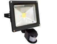20w Motion Sensor Led Flood Light - Black Photo
