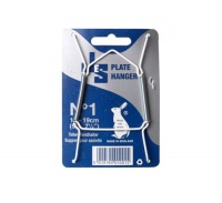 Bulk Pack 10 x Plate Hanger No1 For Plates 13 to 19cm Photo