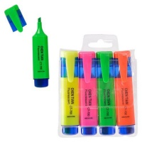 Bulk Pack 5 x Highlighter Set 4 Piece Photo