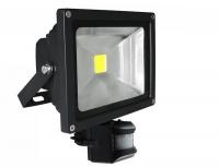 30w Motion Sensor Led Flood Light - Black Photo