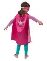 Dreamy Dress Ups Super Hero Cape & Mask Wonder Star Photo